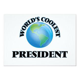World's coolest President Custom Announcement Card