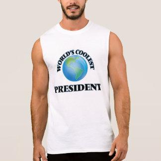 World's coolest President Sleeveless Tee