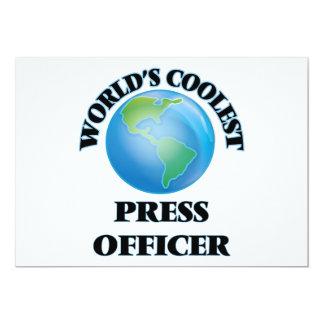 World's coolest Press Officer Announcement