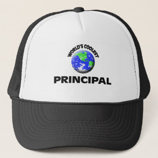 World's Coolest Principal Trucker Hat