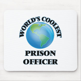 World's coolest Prison Officer Mousepads