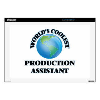 """World's coolest Production Assistant Skin For 17"""" Laptop"""