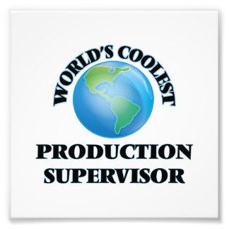 World's coolest Production Supervisor Photo Print