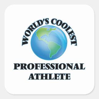 World's coolest Professional Athlete Square Sticker