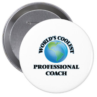 World's coolest Professional Coach Pin