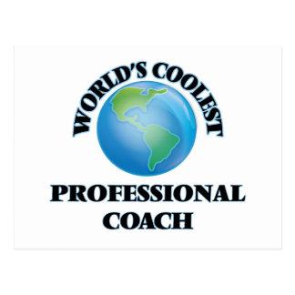 World's coolest Professional Coach Postcard