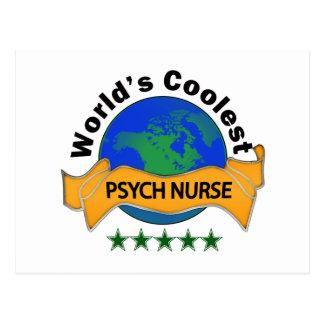 World's Coolest Psych Nurse Postcard