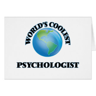 World's coolest Psychologist Greeting Card