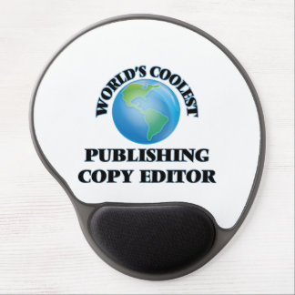 World's coolest Publishing Copy Editor Gel Mouse Pad