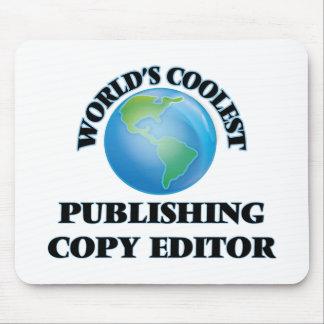 World's coolest Publishing Copy Editor Mousepad
