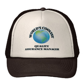World's coolest Quality Assurance Manager Mesh Hats