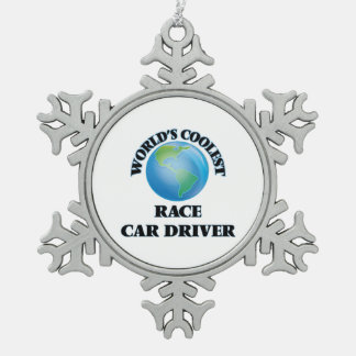 World's coolest Race Car Driver Ornament