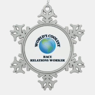 World's coolest Race Relations Worker Ornament