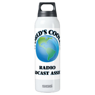 World's coolest Radio Broadcast Assistant SIGG Thermo 0.5L Insulated Bottle