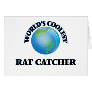 World's coolest Rat Catcher Card