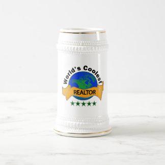 World's Coolest Realtor Beer Stein