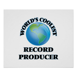 World's coolest Record Producer Print