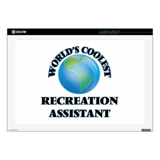 """World's coolest Recreation Assistant Decals For 17"""" Laptops"""