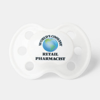 World's coolest Retail Pharmacist BooginHead Pacifier
