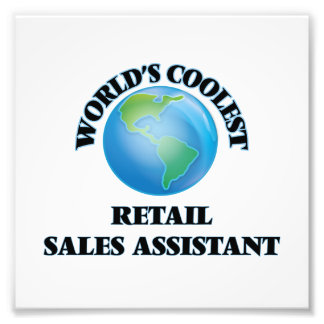 World's coolest Retail Sales Assistant Photo