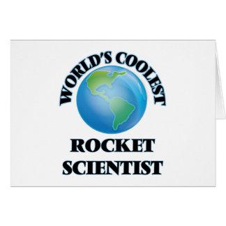 World's coolest Rocket Scientist Card