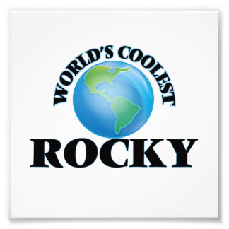 World's Coolest Rocky Photographic Print