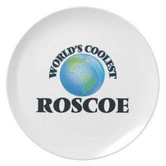 World's Coolest Roscoe Dinner Plates