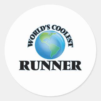 World's coolest Runner Sticker