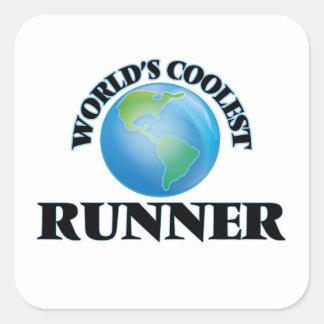 World's coolest Runner Stickers