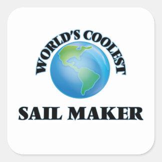 World's coolest Sail Maker Stickers