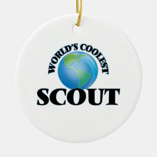 World's coolest Scout Ceramic Ornament