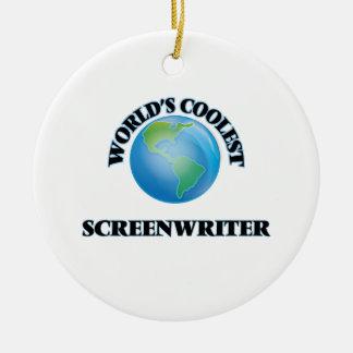 World's coolest Screenwriter Ornament