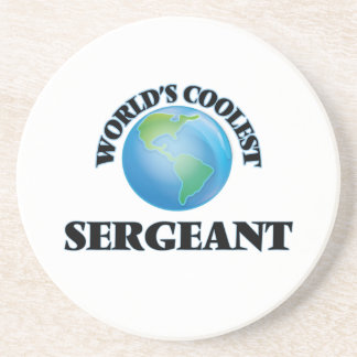 World's coolest Sergeant Drink Coasters