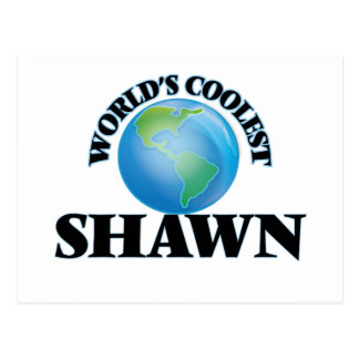 World's Coolest Shawn Post Cards