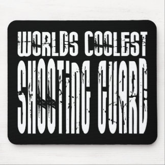 Worlds Coolest Shooting Guard Mouse Pad