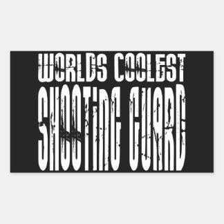 Worlds Coolest Shooting Guard Rectangular Sticker
