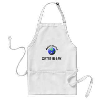 World's Coolest Sister-in-Law Adult Apron