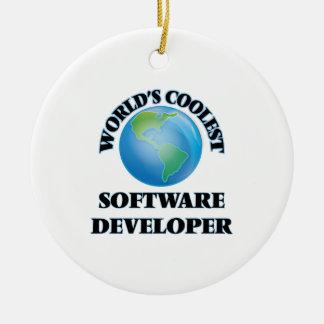 World's coolest Software Developer Christmas Tree Ornament