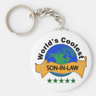 World's Coolest Son-In-Law Keychain