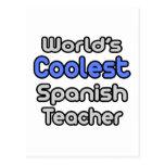 World's Coolest Spanish Teacher Post Cards