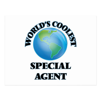 World's coolest Special Agent Postcards