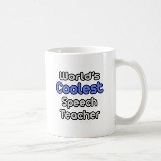 World's Coolest Speech Teacher Coffee Mugs