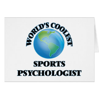 World's coolest Sports Psychologist Card