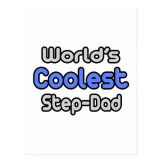 World's Coolest Step-Dad Postcard