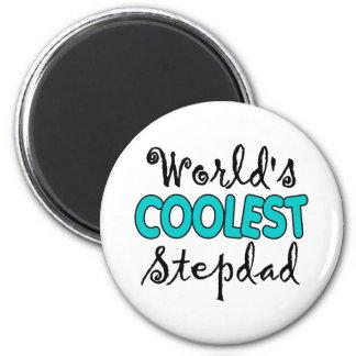 World's Coolest Stepdad Magnet