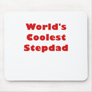 Worlds Coolest Stepdad Mouse Pad