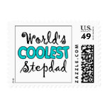 World's Coolest Stepdad Postage