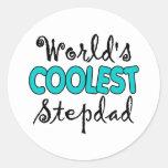 World's Coolest Stepdad Stickers