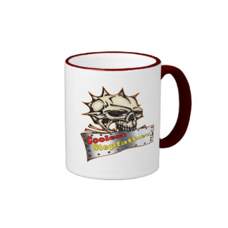 World's Coolest Stepfather Father's Day Gift Ringer Coffee Mug