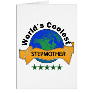 World's Coolest Stepmother Card